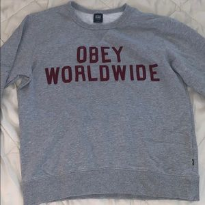 OBEY Oversized Sweater